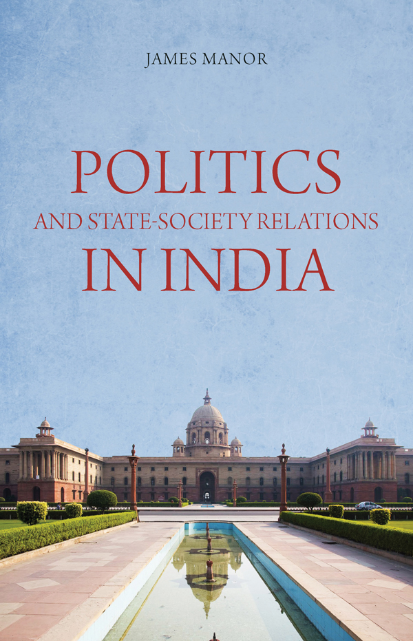state society relationship in india
